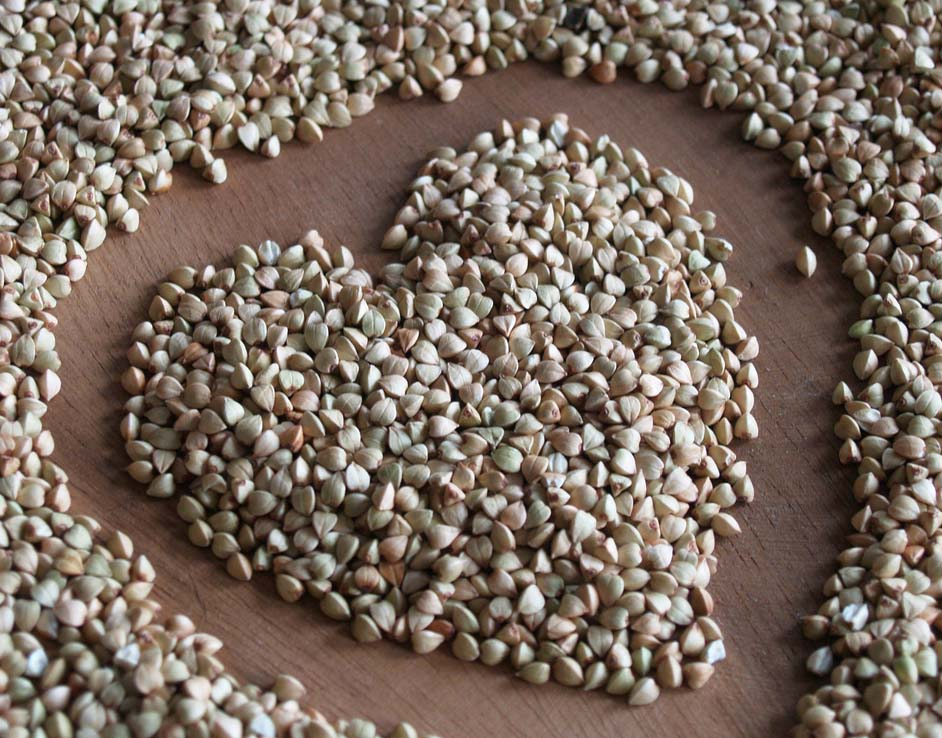 Insalata di germogli di grano saraceno